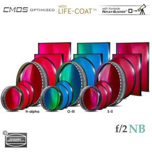 Baader 6.5nm f/2 Highspeed Filter-Set – CMOS-optimized (H-alpha / O-III / S-II)