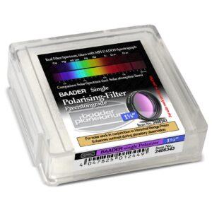 """Filtro polarizador sencillo Baader 1,25"""" 2408343"""